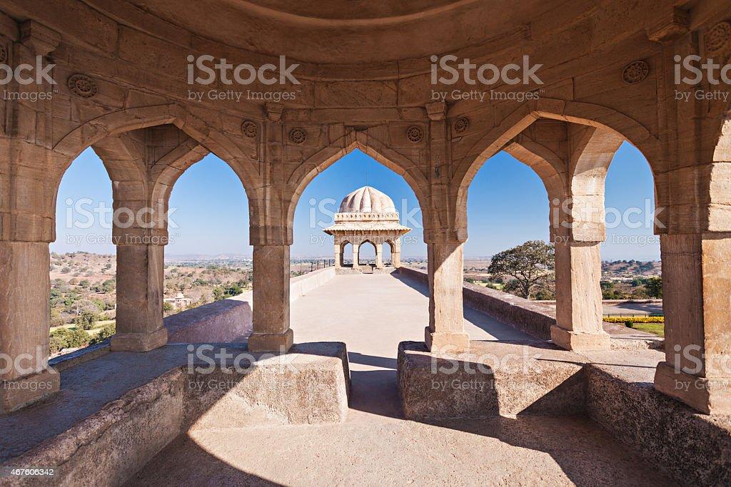 Rupmati Pavilion, Mandu stock photo