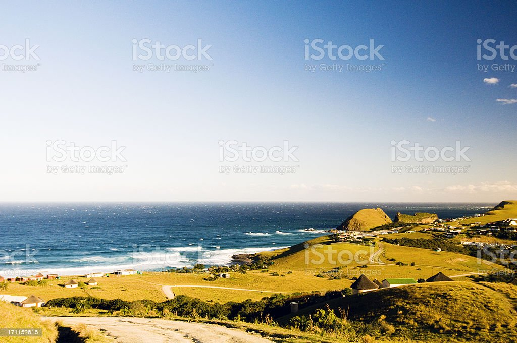 Rural area stock photo