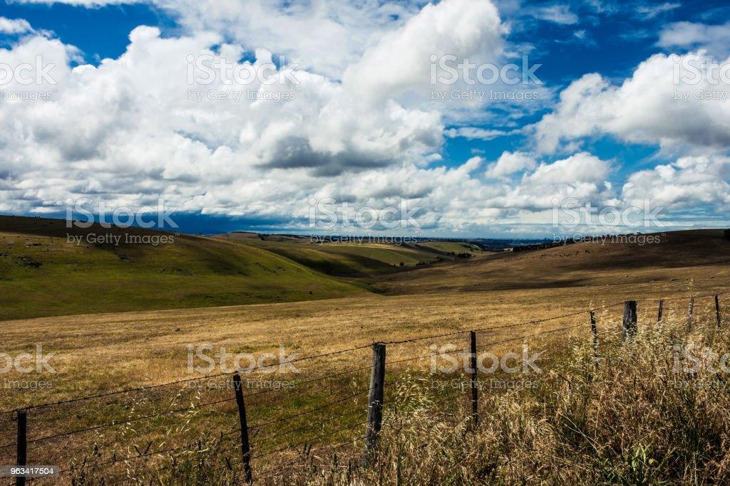 Un domaine rural de l'Australie - Photo de Australie libre de droits