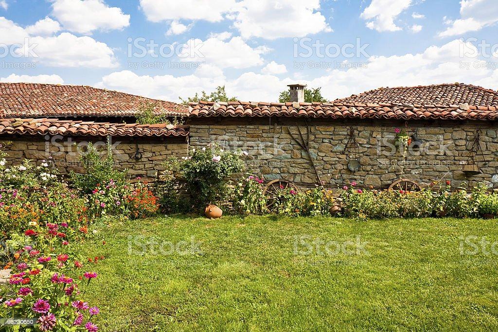Rural Backyard royalty-free stock photo