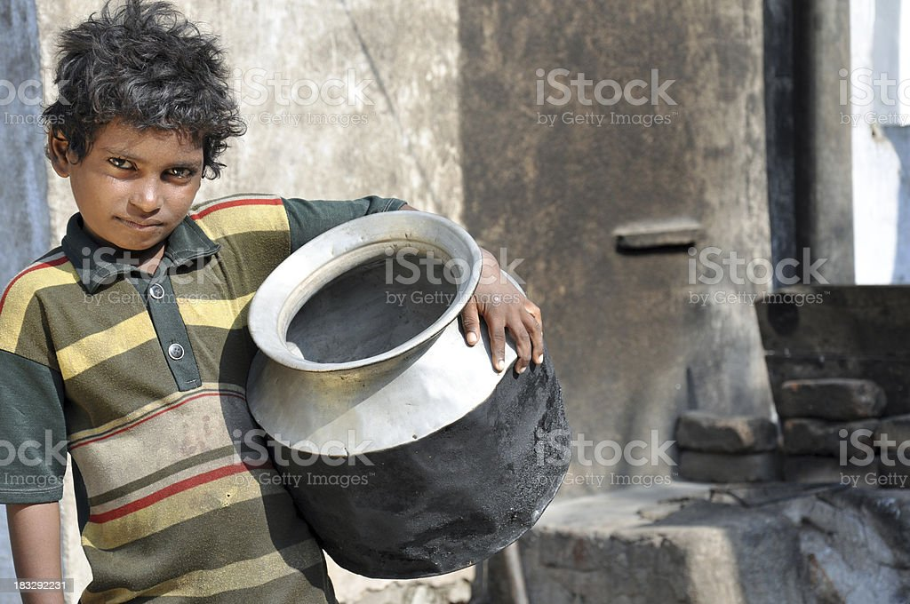 Rural Boy stock photo