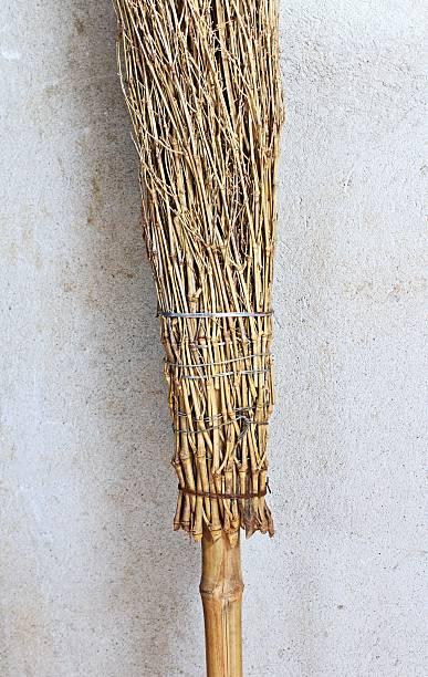 Rural broom stock photo