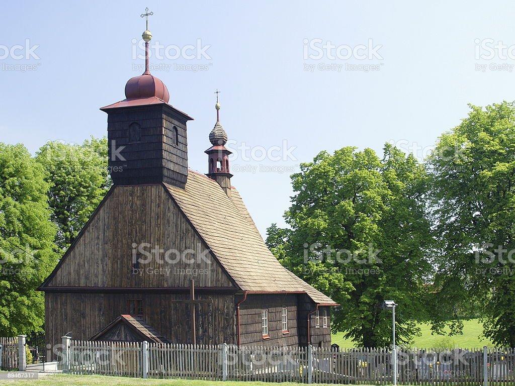 rural chapel stock photo