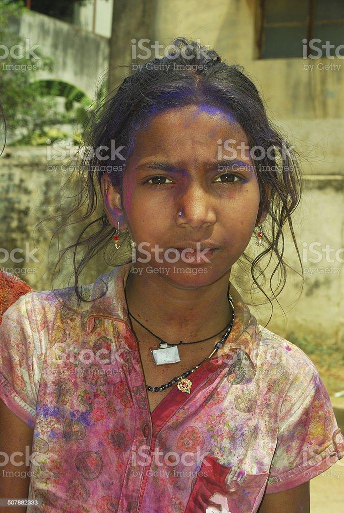Rural Children royalty-free stock photo