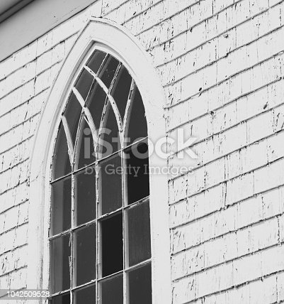 19th century rural Nova Scotian church.