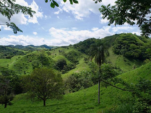 Rural Costa Rica stock photo
