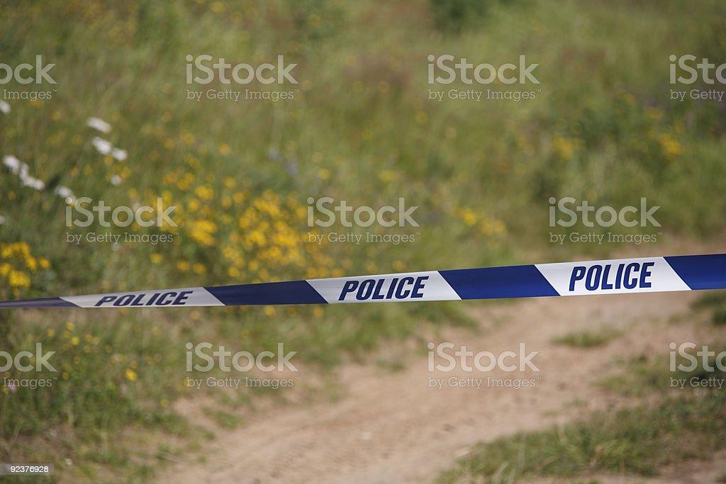 rural crime scene royalty-free stock photo
