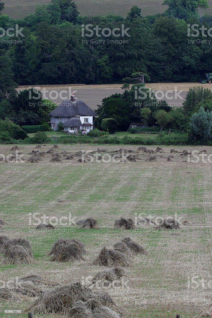 Rural England royalty-free stock photo