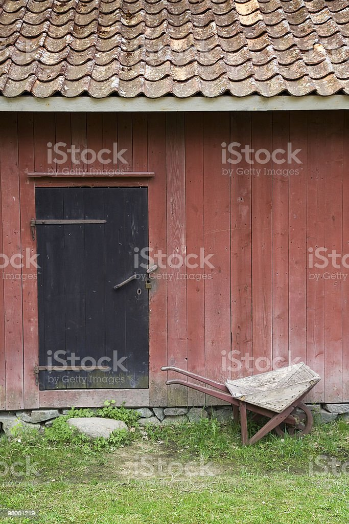 Rural entrance royalty-free stock photo