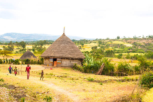 rural ethiopia - horn of africa stock photos and pictures