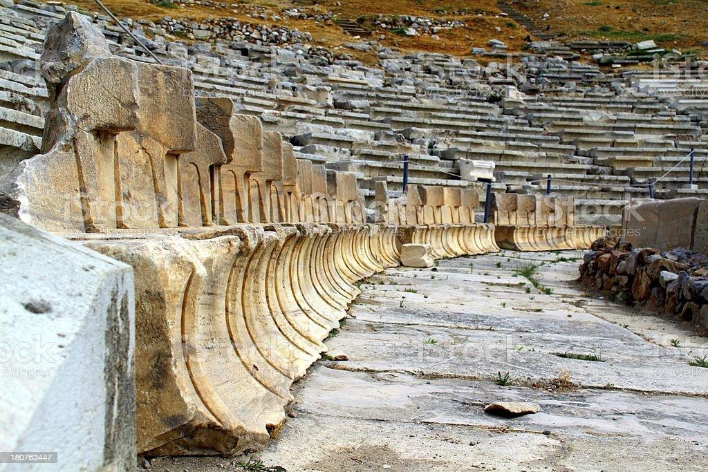 Rural Greek Athens Acropolis royalty-free stock photo