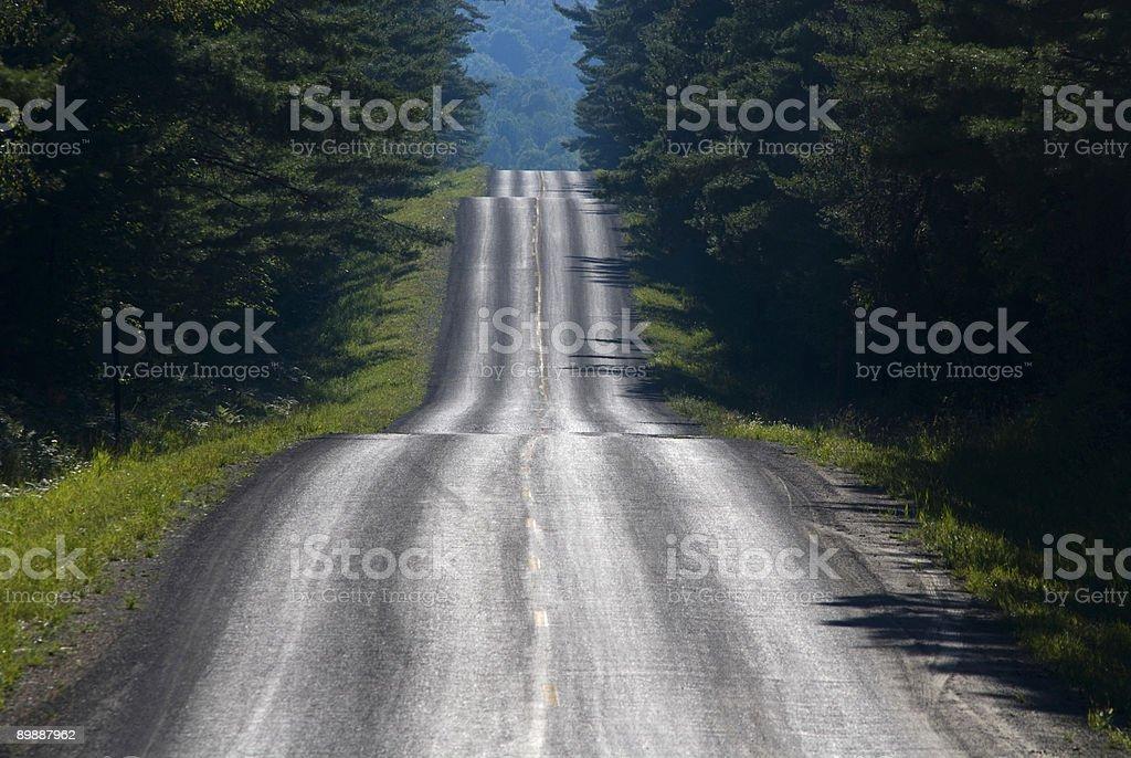 Rural de la autopista#1 foto de stock libre de derechos
