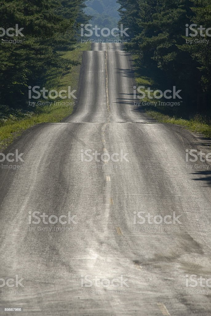 Rural Highway #2 royalty-free stock photo
