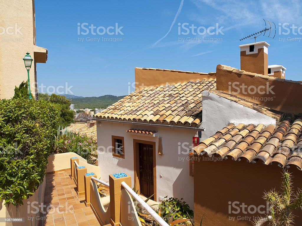 Rural Holiday Villa royalty-free stock photo