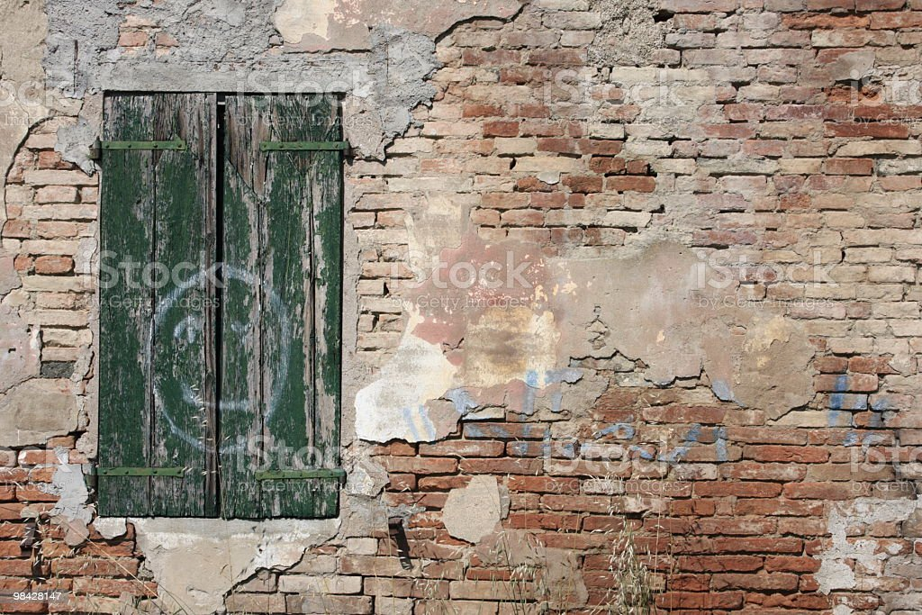 Rural house italian countryside royalty-free stock photo