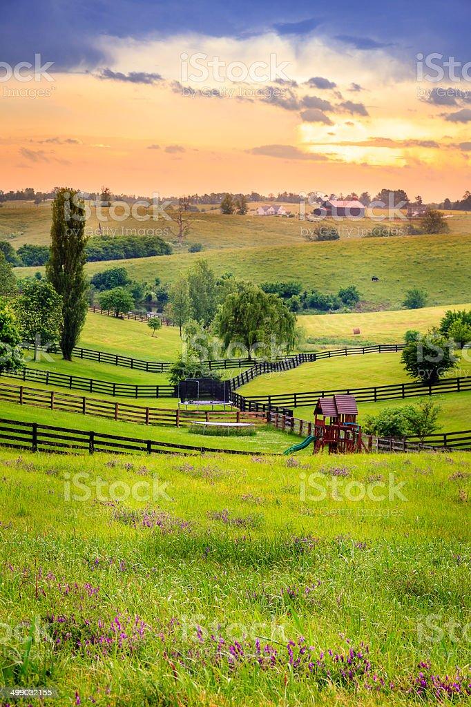 Rural Kentucky stock photo