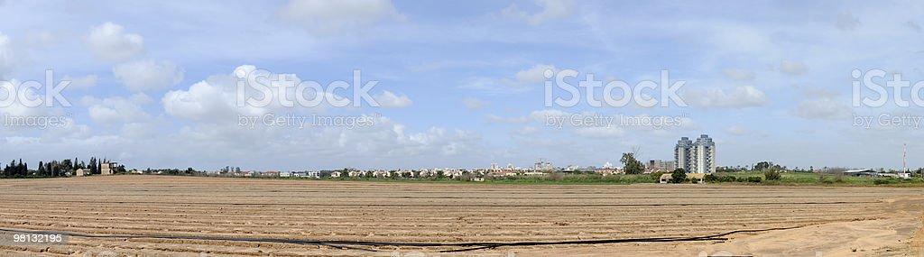 Rural landscape, Israel royalty-free stock photo