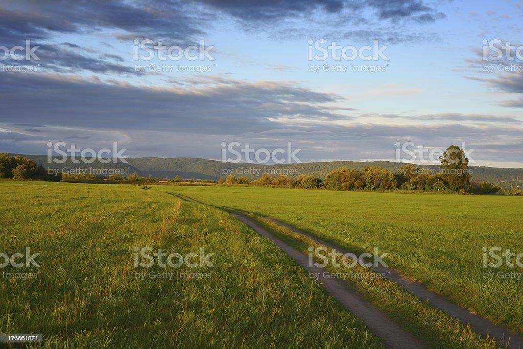 Paisaje Rural foto de stock libre de derechos
