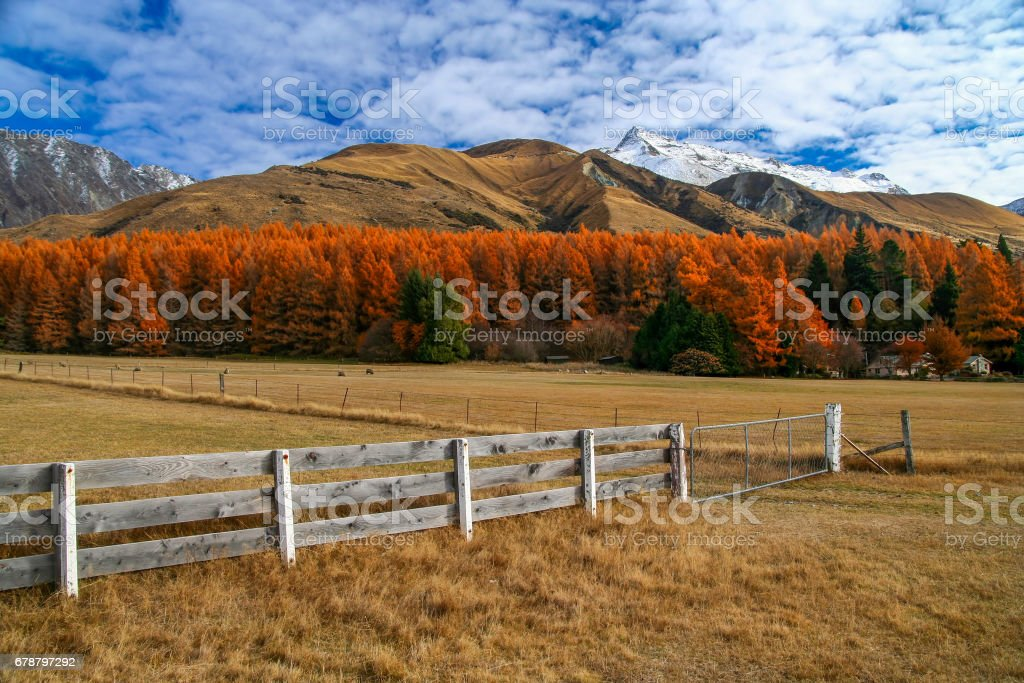 Kırsal dağ manzarası royalty-free stock photo