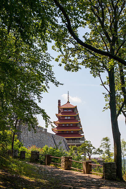 Rural Pagoda stock photo