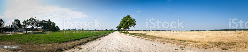 Rural Path stock photo