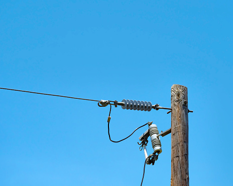 Rural power line and switch