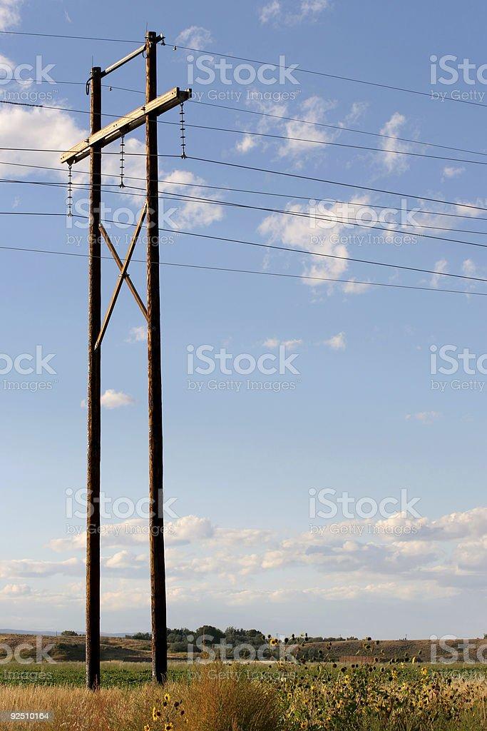 rural power royalty-free stock photo