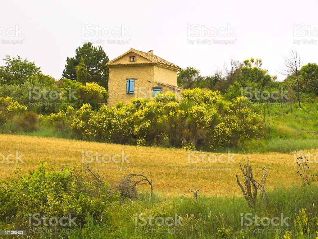 Rural Provence royalty-free stock photo