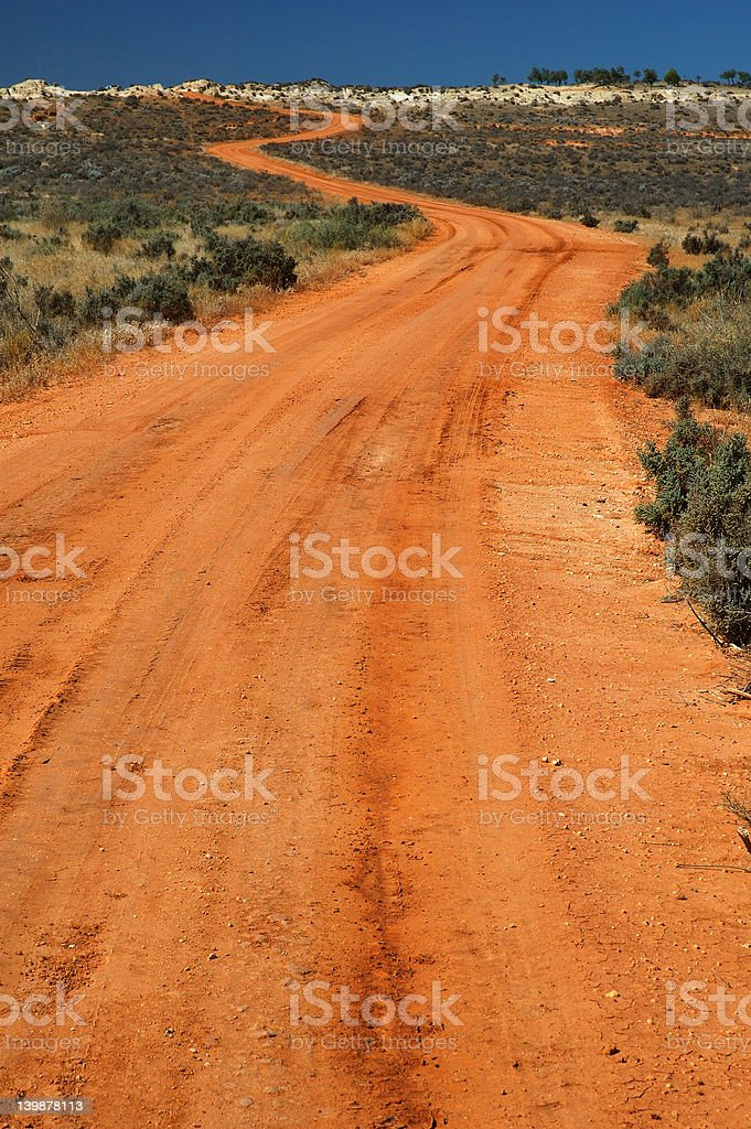 Rural Road royalty-free stock photo