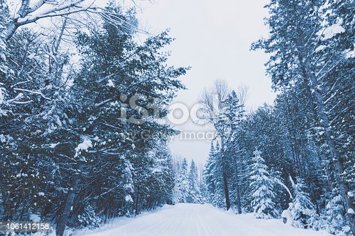 1066508460 istock photo Rural Roads after the Winter Storm 1061412158