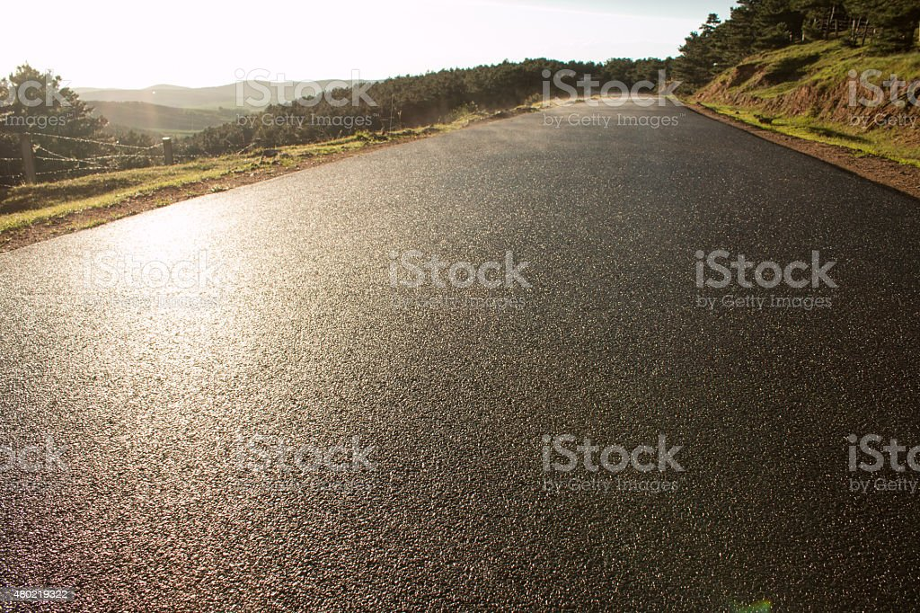 rural roads stock photo