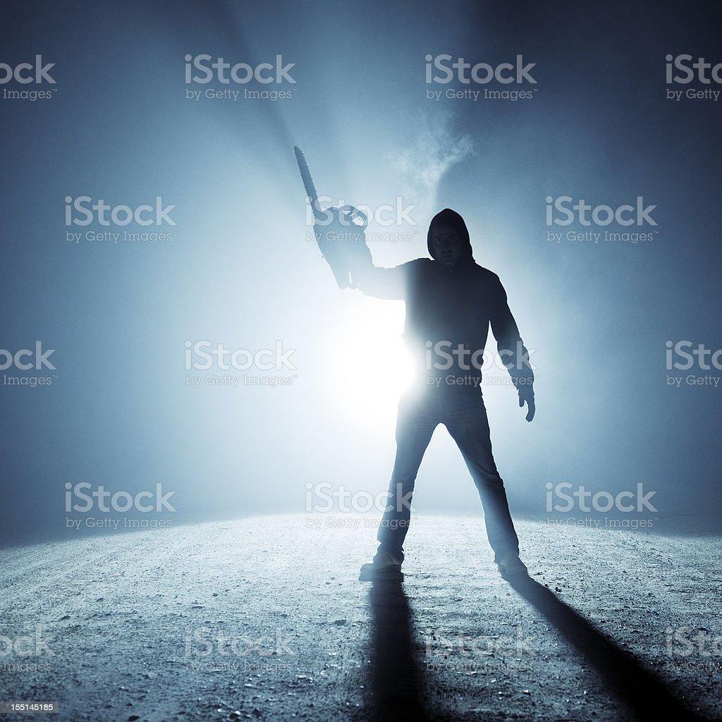 Estrada Rural killer - foto de acervo