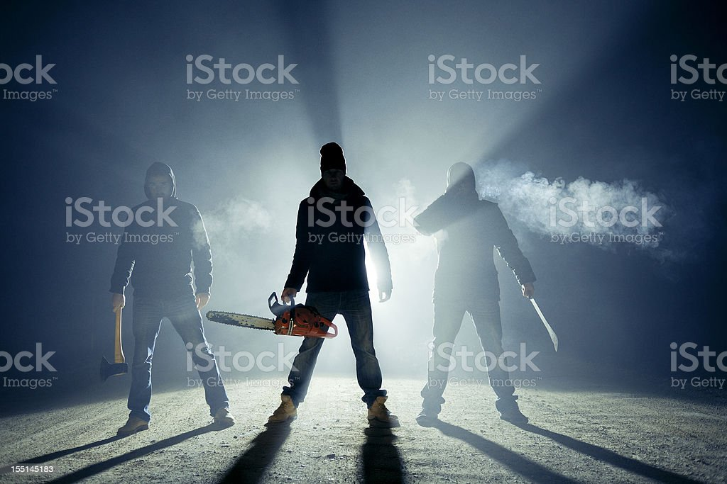 Rural roadside killers stock photo
