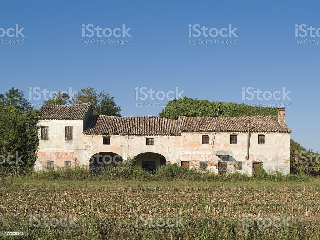 Rural ruin stock photo