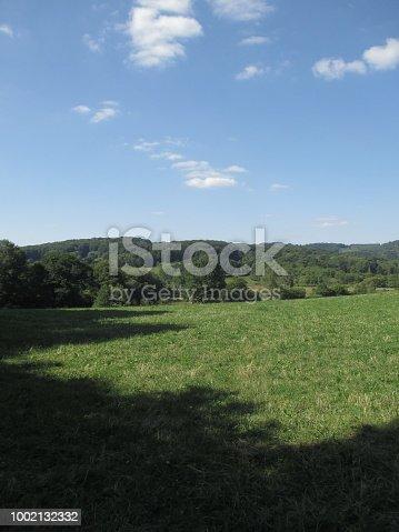 Rural Scene  Field Hilly  Landscape