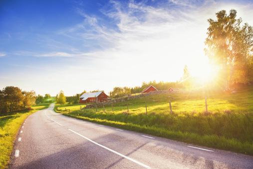 Rural Scene In Linköping Sweden Stock Photo - Download Image Now