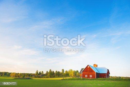 Rural scene in Linköping, Östergötland, Sweden