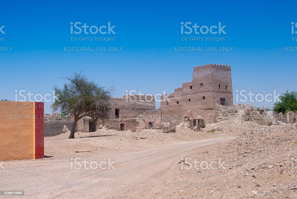 Rural Scene - Oman stock photo