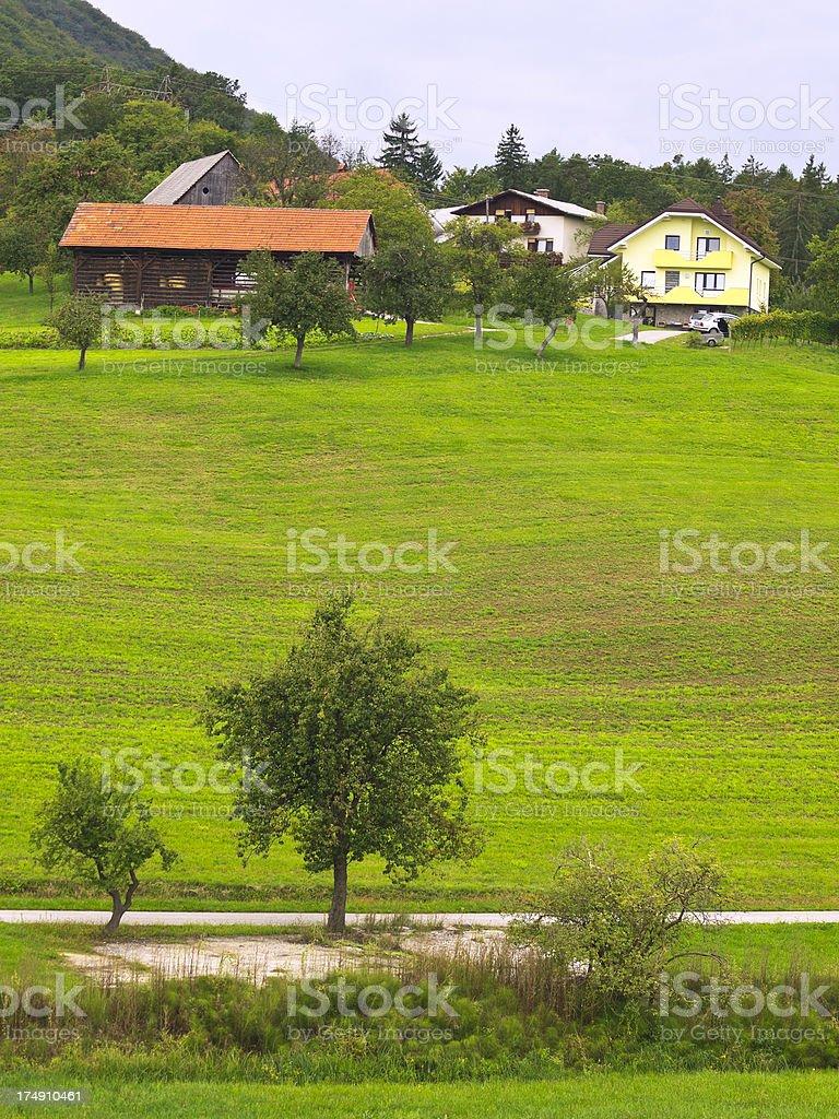 Rural Slovenia royalty-free stock photo