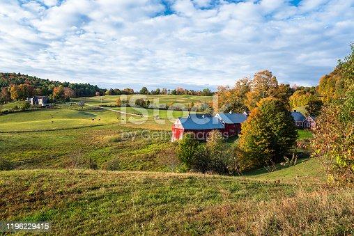 488912426istockphoto Rural Vermont at surise in autumn 1196229415