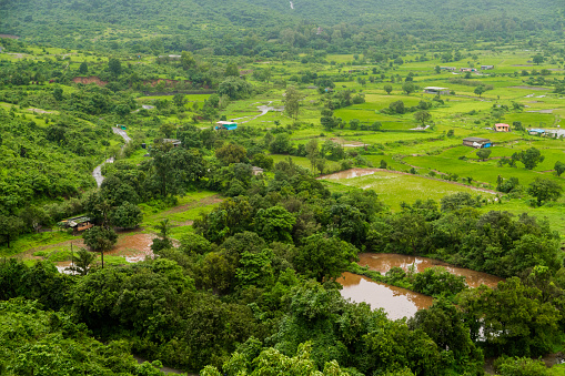 Rural View over Lonavala