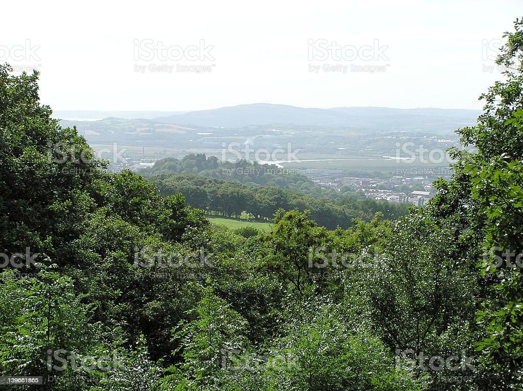 Rural View royalty-free stock photo
