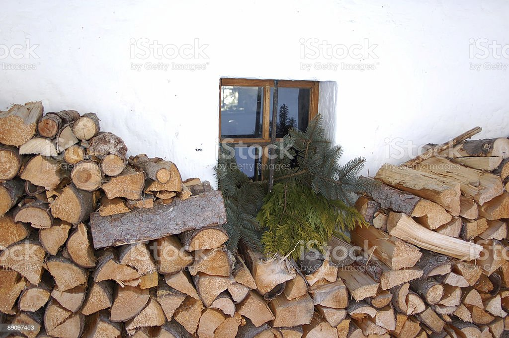 Rural Window royalty-free stock photo