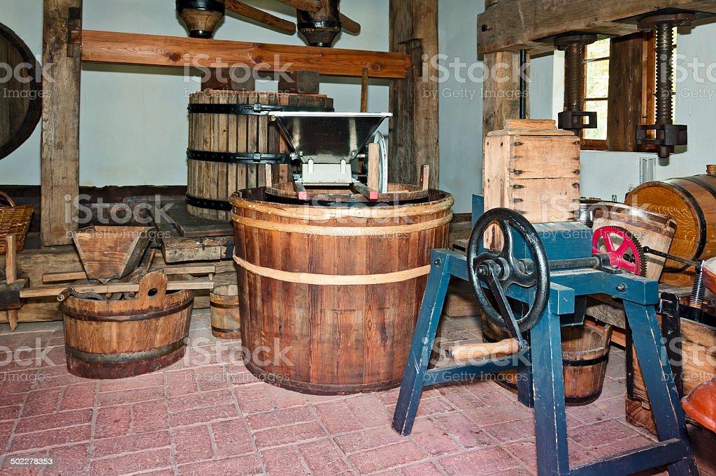 Rural wine distillery royalty-free stock photo