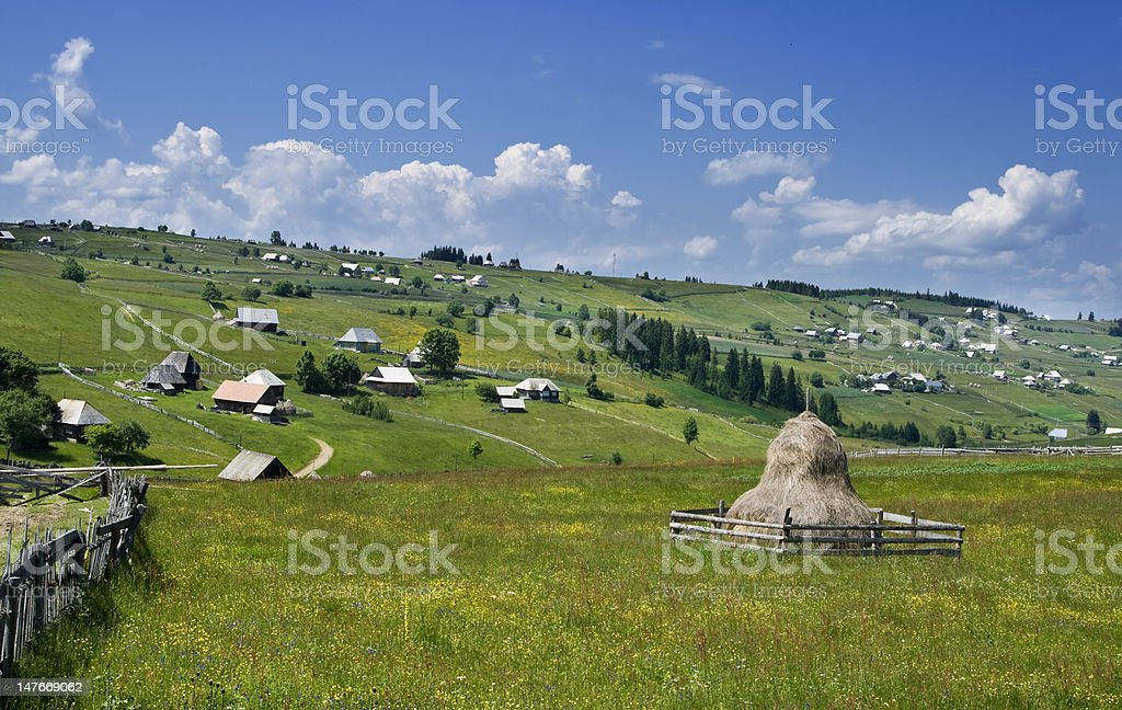 Ruralscape royalty-free stock photo