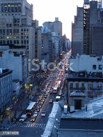 820883024istockphoto Rush Hour in New York City 172674029