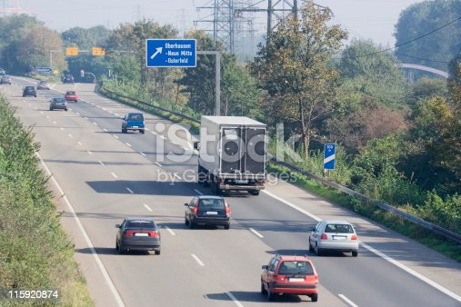 istock rush hour on a highway near an exchange 115920874