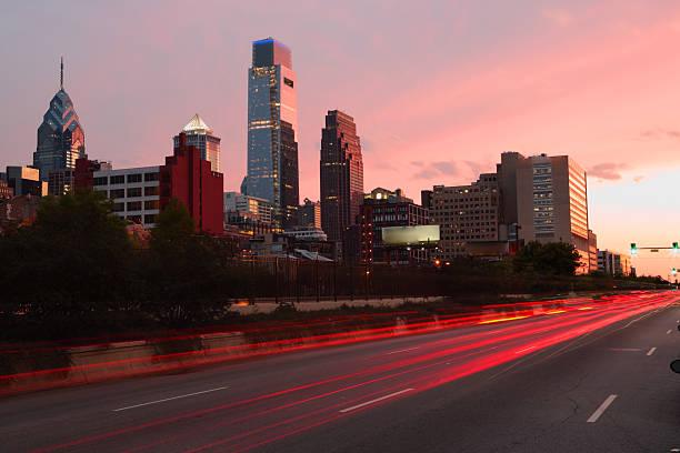 Rush hour, Philadelphia