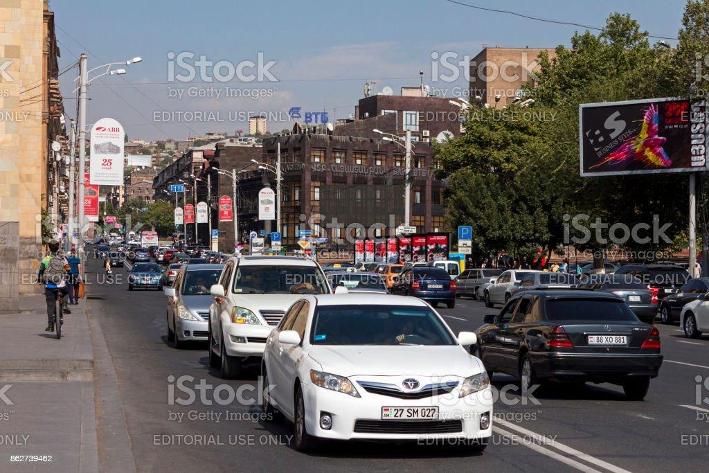 Rush Hour Traffic. stock photo