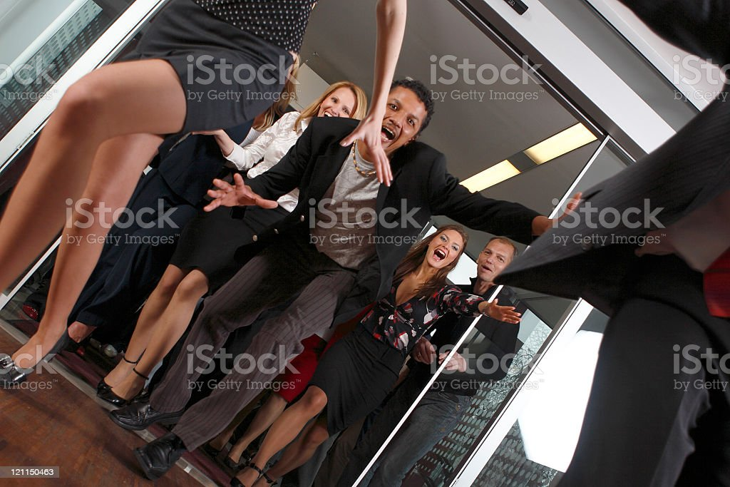 Rush on sales stock photo